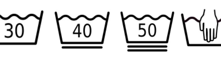2分鐘學會看洗滌標示:保養衣服從看洗滌標示開始!